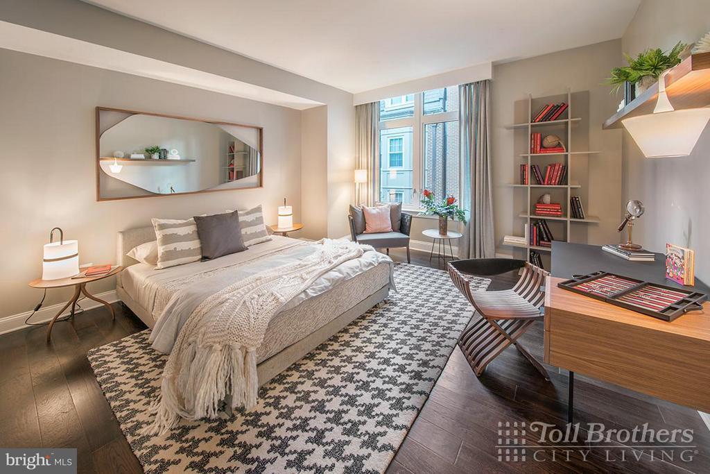 Bedroom - 4915 HAMPDEN LN #405, BETHESDA