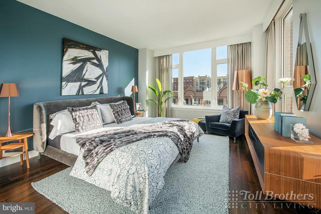 Bedroom (Master) - 4915 HAMPDEN LN #405, BETHESDA