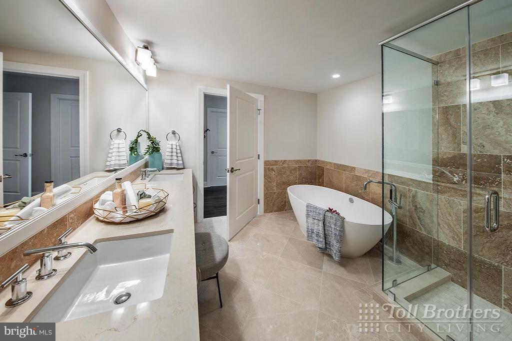 Bath (Master) - 4915 HAMPDEN LN #405, BETHESDA