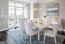 Dining Room - 4915 HAMPDEN LN #301, BETHESDA