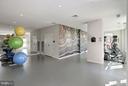 Building Amenities- Fitness Center - 4915 HAMPDEN LN #301, BETHESDA