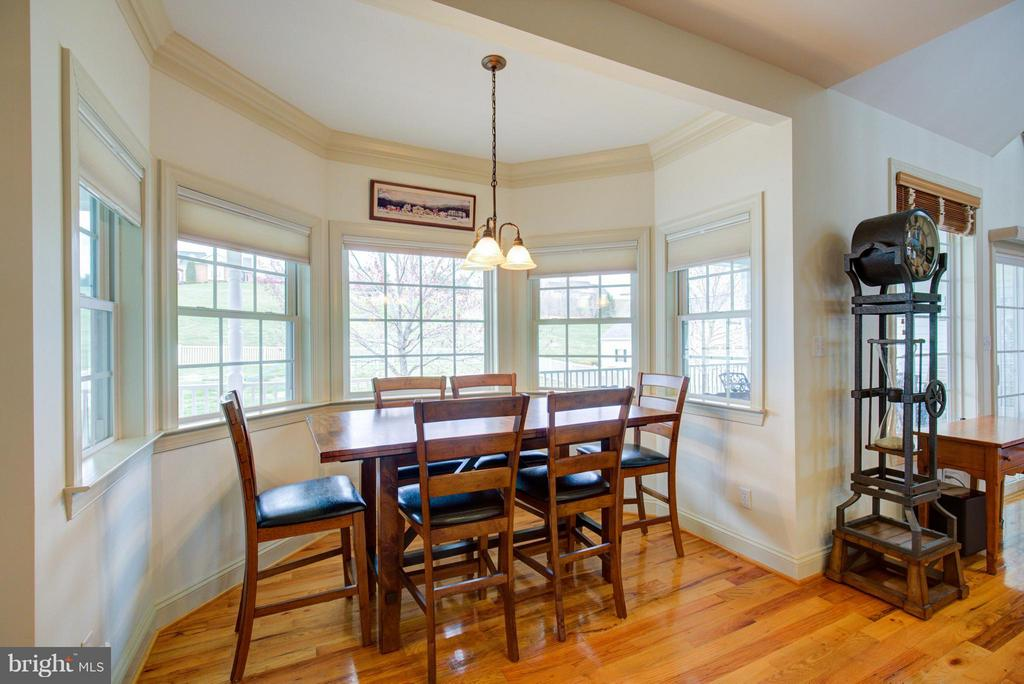 Panoramic windows provide the perfect view - 121 GRANVILLE CT, WINCHESTER
