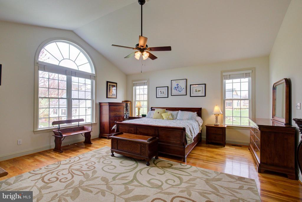 Beautiful master suite - 121 GRANVILLE CT, WINCHESTER
