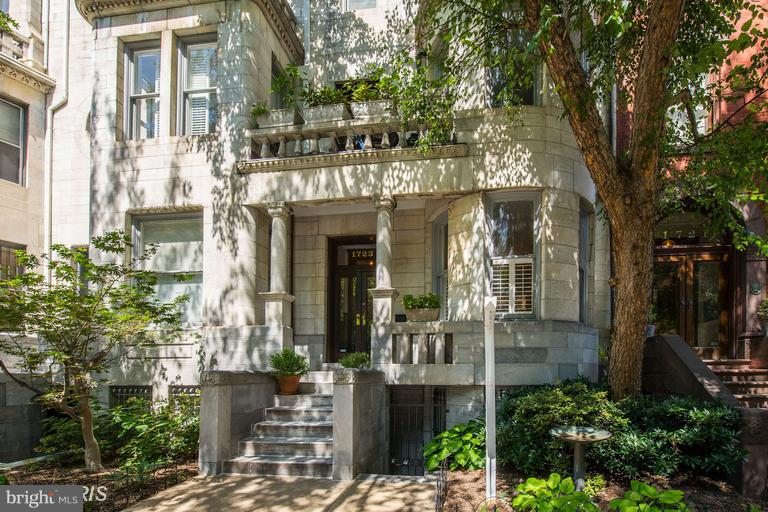 Photo of home for sale at 1723 P Street Nw, Washington DC