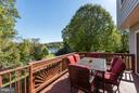 Rear Deck - 2206 WINTER GARDEN WAY, OLNEY