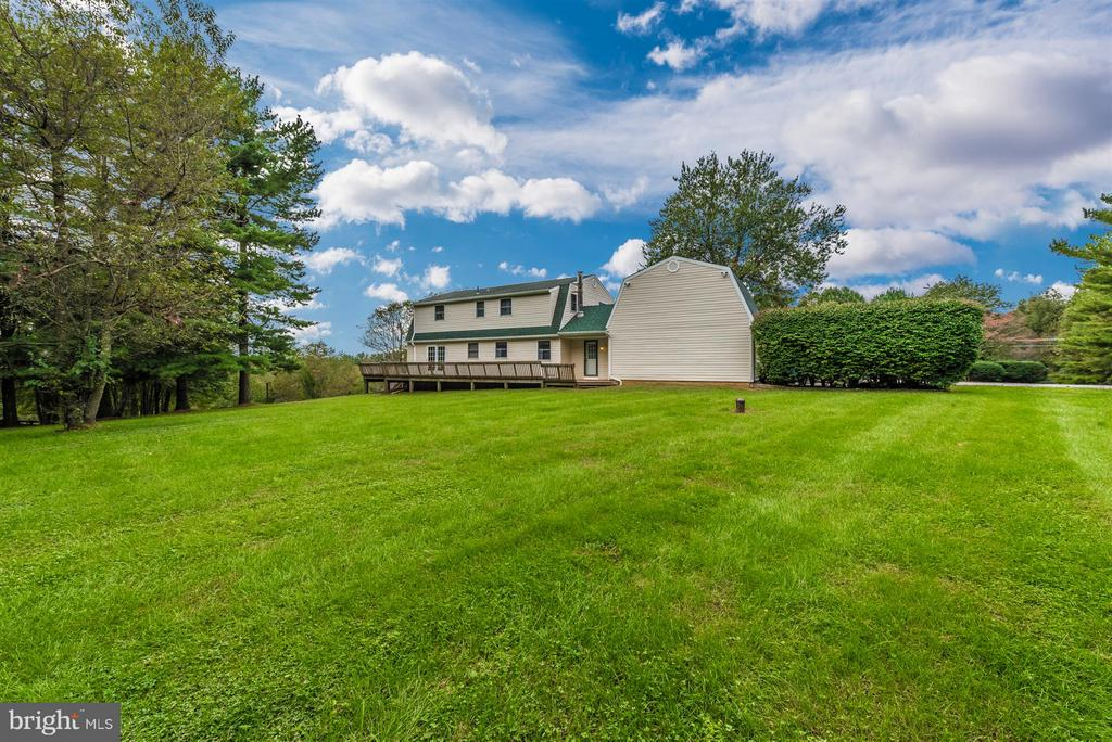 SIDE VIEW OVERLOOKING NEIGHBORS BEAUTIFUL PASTURES - 7433 OLD WASHINGTON RD, WOODBINE
