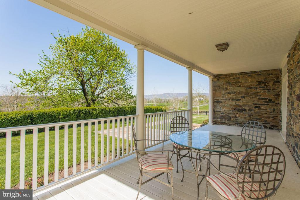 Panoramic views of Va countryside from front porch - 35676 SNICKERSVILLE TPKE, PURCELLVILLE