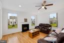 Family Room - 42522 OXFORD FOREST CIR, CHANTILLY