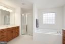 Bath (Master) - 42522 OXFORD FOREST CIR, CHANTILLY