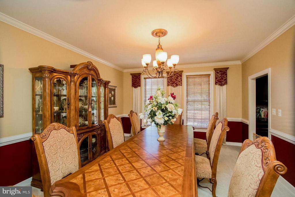 Dining Room - 15 PINKERTON CT, STAFFORD