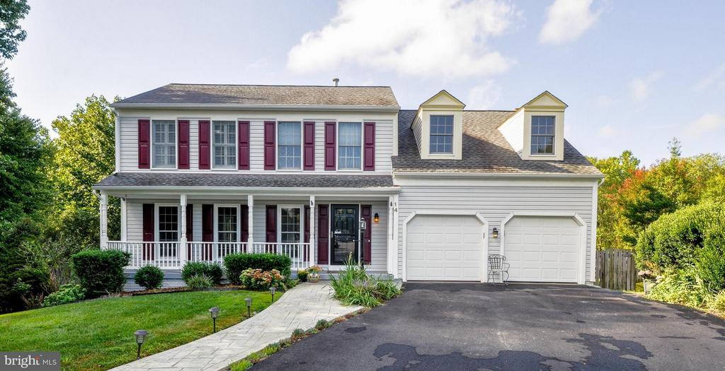 Exterior (Front) - 14 OAKBROOK CT, STAFFORD