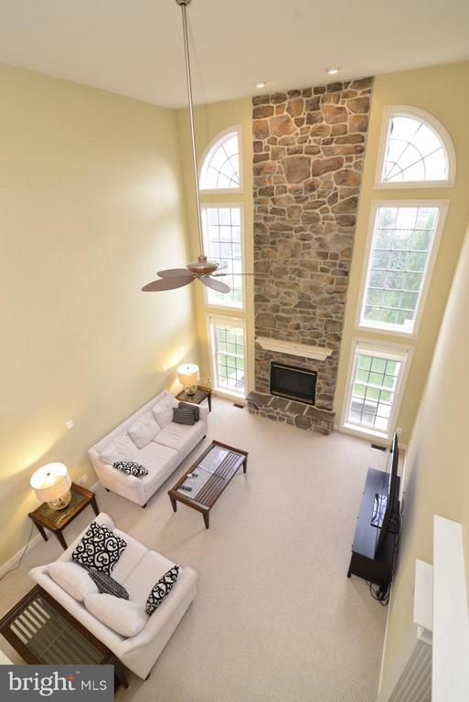 View of 2-story Family Room - 43283 THADDEUS LN, LEESBURG
