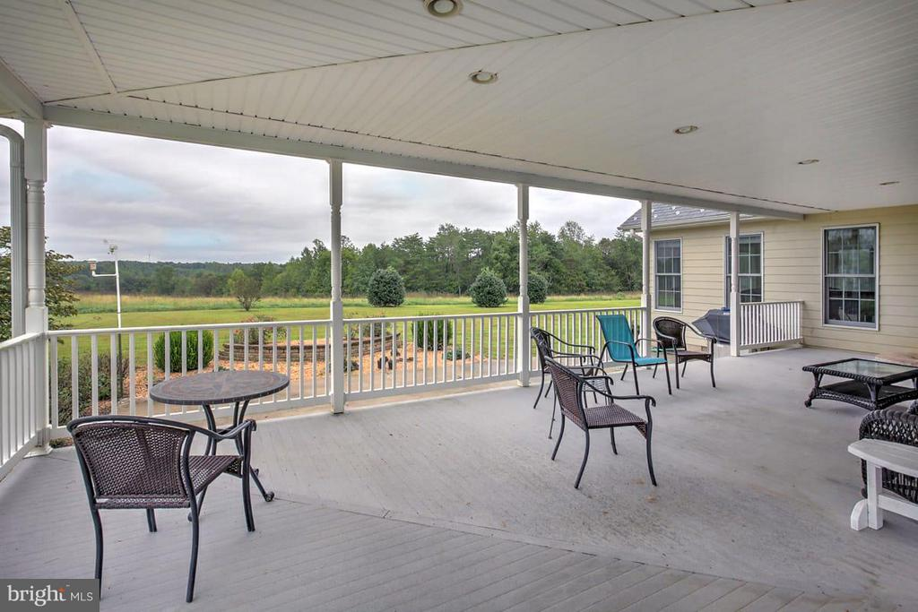 Covered Patio off Family Room - 2921 DUCKER DR, LOCUST GROVE