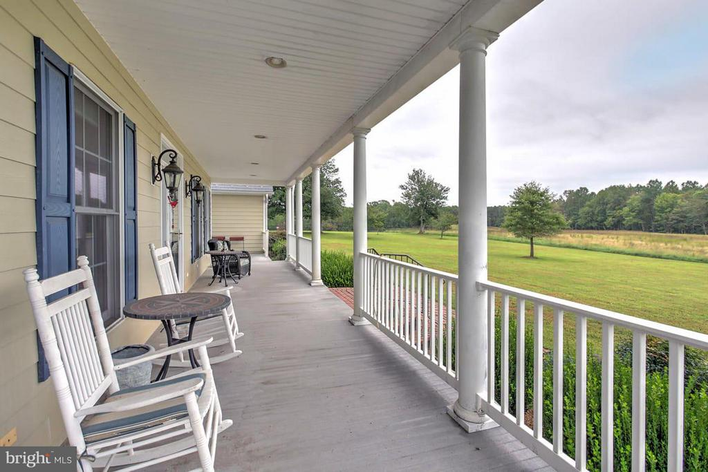 Front Porch Southeasterly over farm - 2921 DUCKER DR, LOCUST GROVE