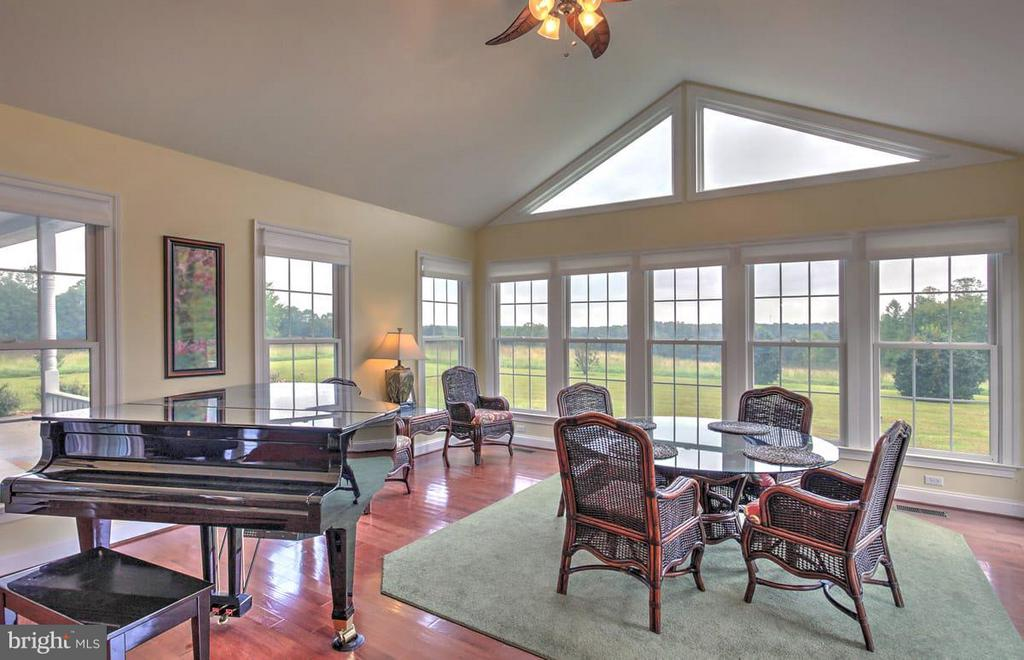 Family Room overlooking farm easterly - 2921 DUCKER DR, LOCUST GROVE