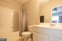 Attached Bath to Bedroom #2 - 21841 RYAN PARK TER, ASHBURN