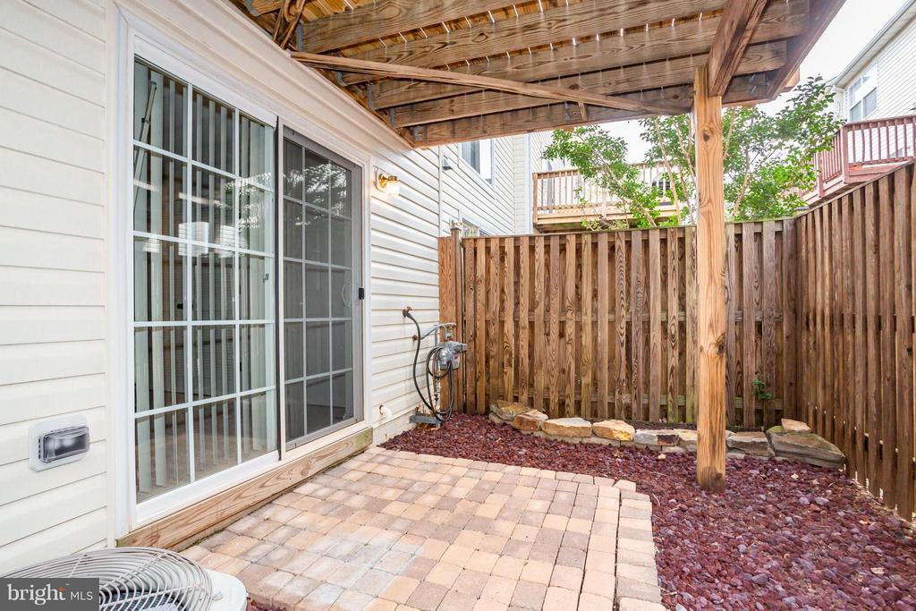 Fenced Backyard - 21841 RYAN PARK TER, ASHBURN