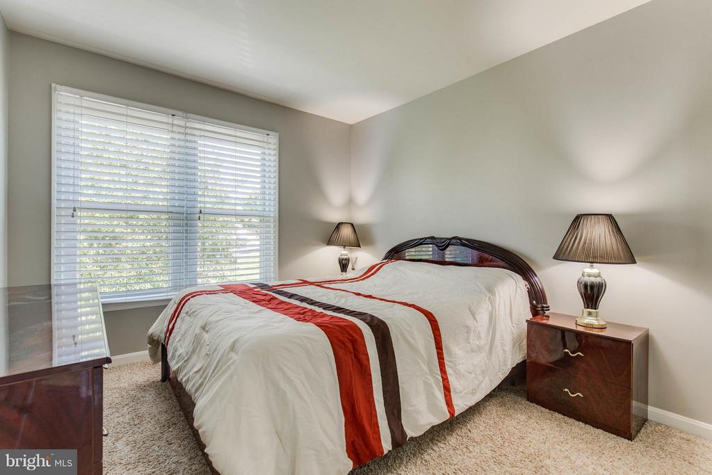 Light Filled Second Bedroom - 6315 MARY TODD CT, CENTREVILLE