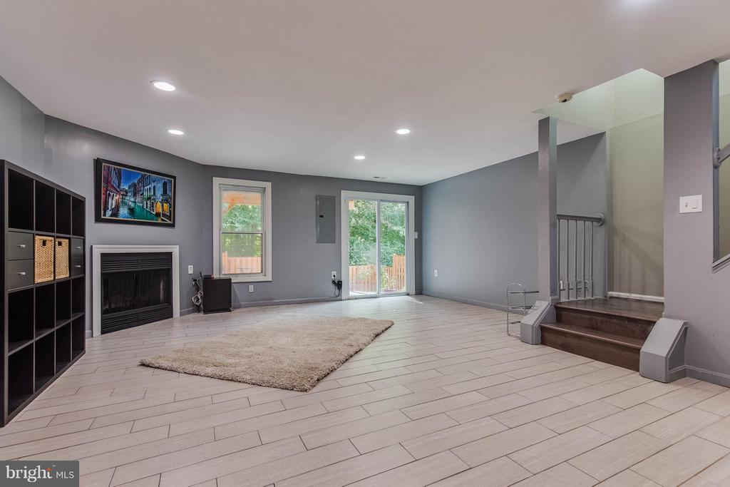 Large Walkout Rec Room on LL - 6315 MARY TODD CT, CENTREVILLE
