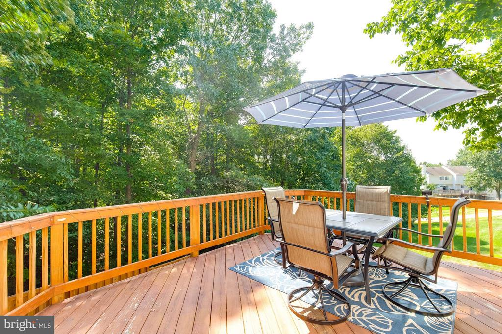 Deck off Main Level, Perfect for Entertaining - 6315 MARY TODD CT, CENTREVILLE