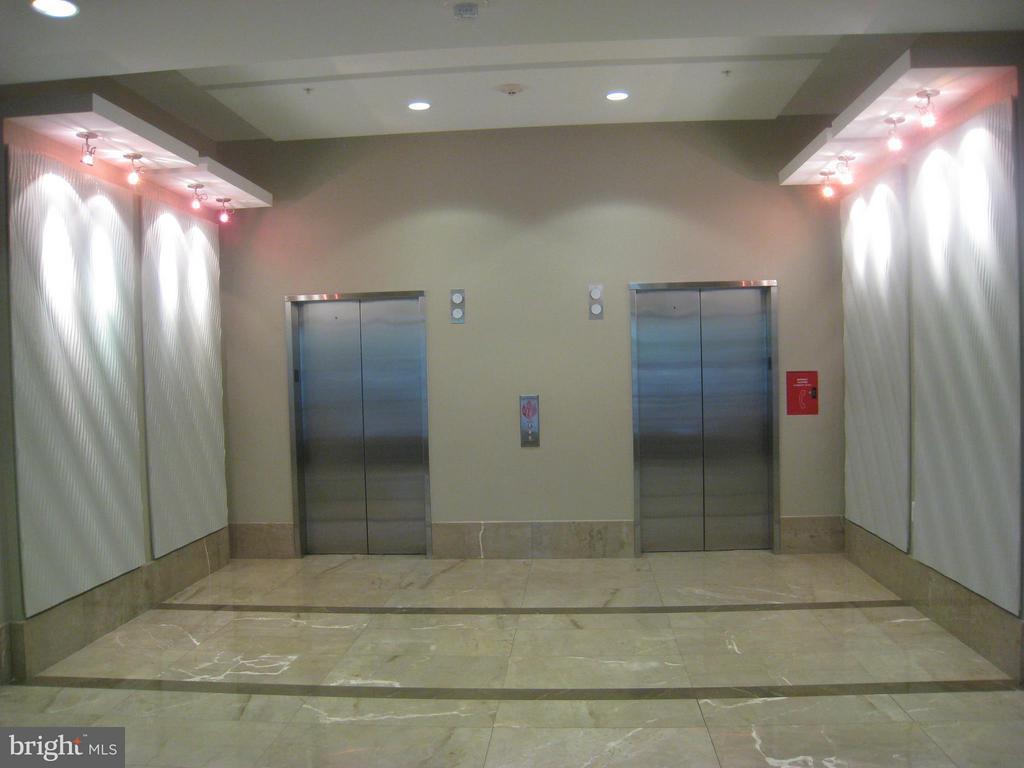 Lobby elevators - 820 POLLARD ST #505, ARLINGTON