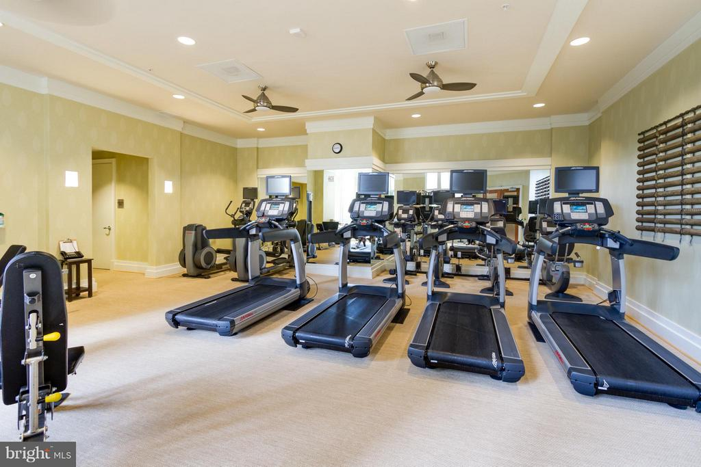 Community Fitness Room - 8220 CRESTWOOD HEIGHTS DR #316, MCLEAN