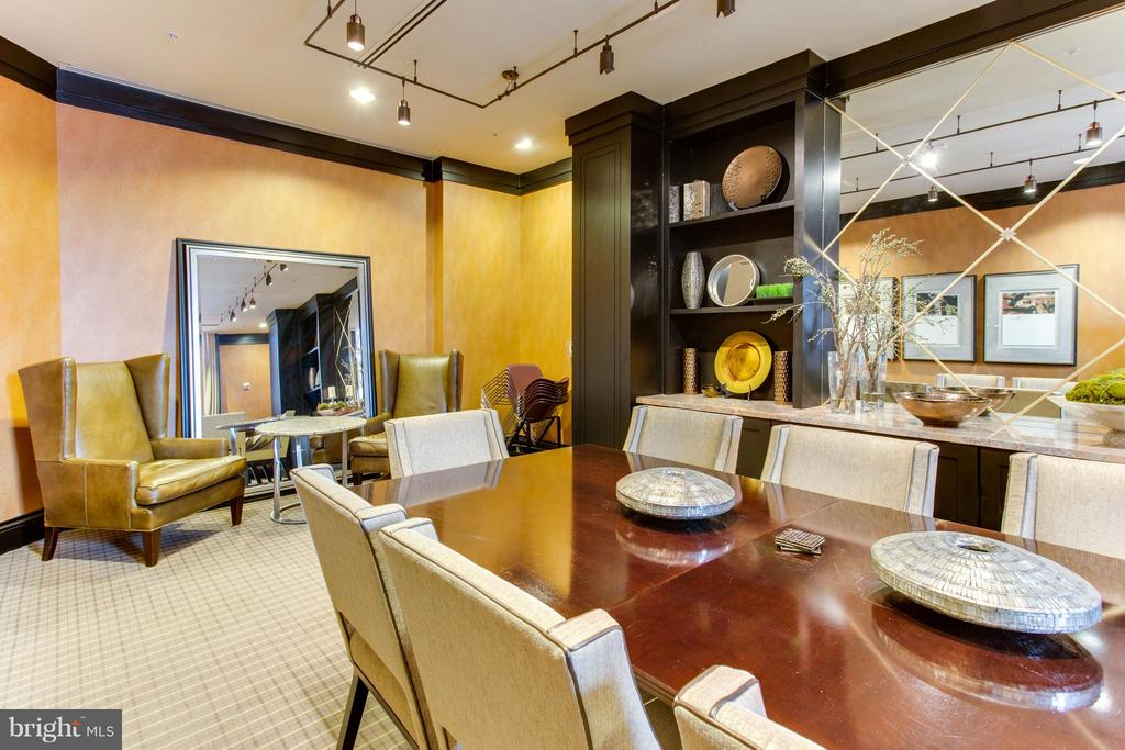 Community Party Room - 8220 CRESTWOOD HEIGHTS DR #316, MCLEAN