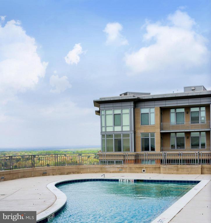 Rooftop Pool - 8220 CRESTWOOD HEIGHTS DR #316, MCLEAN