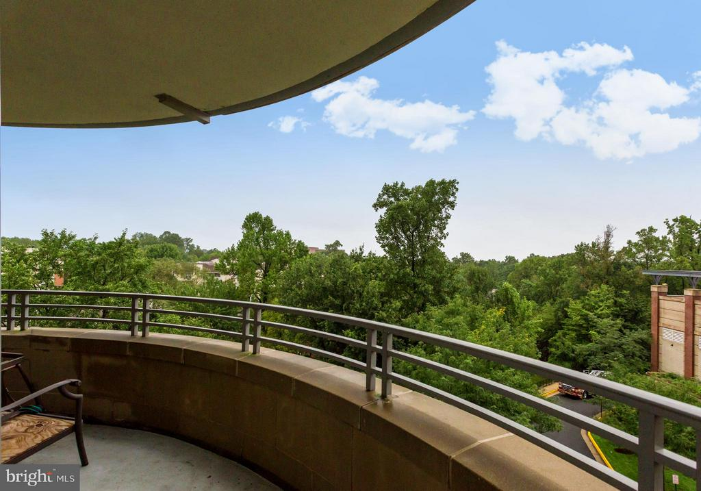 Balcony - 8220 CRESTWOOD HEIGHTS DR #316, MCLEAN