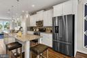 Kitchen Home may differ from photos - 0 STONE BARN DR #LANDON II, URBANA