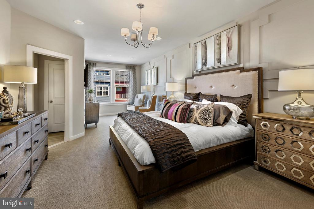 Bedroom (Master) homes may differ from photo - 0 SHADY PINES DR #HENLEY II, URBANA