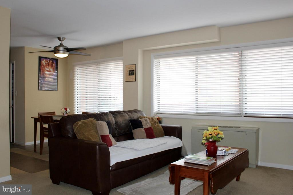 Living Room - 1508 GEORGE MASON DR #13, ARLINGTON