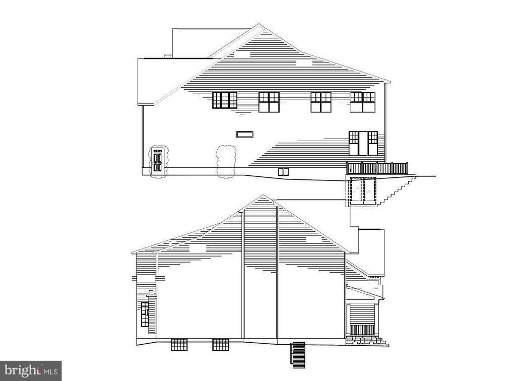 Exterior (Rear) - 7824 KENT RD, ALEXANDRIA