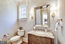 Main Level Powder Room - 3200 ABINGDON ST, ARLINGTON