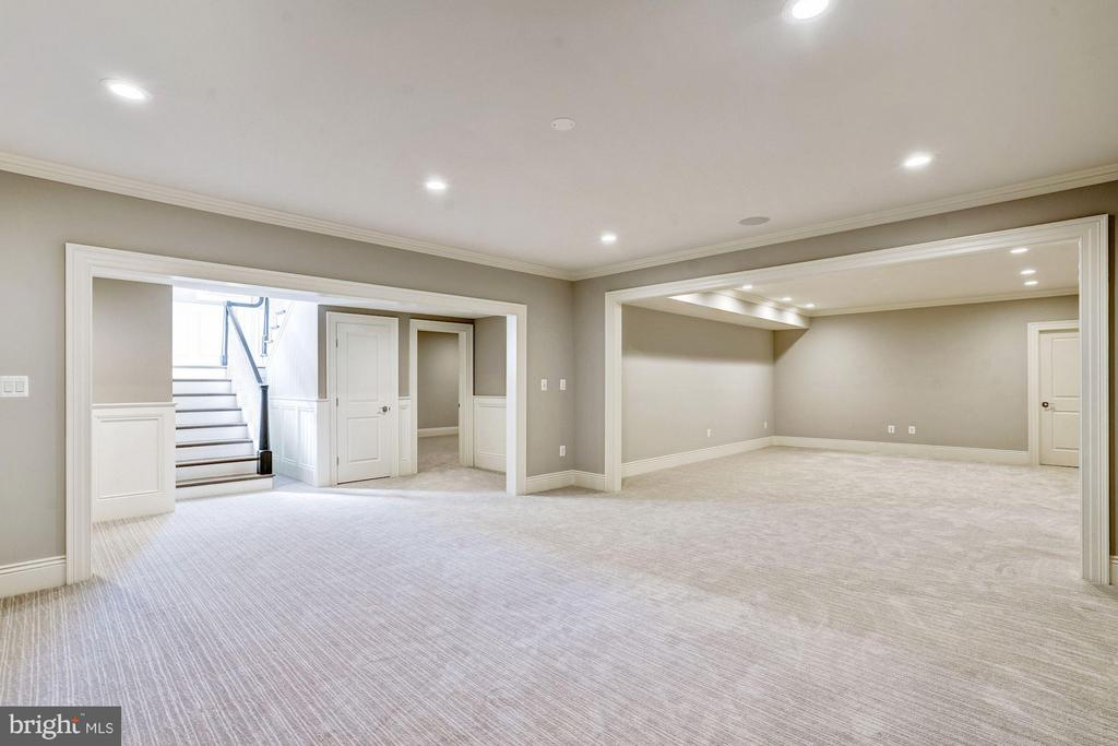 Lower Level Recreation Room/Game Room - 3200 ABINGDON ST, ARLINGTON