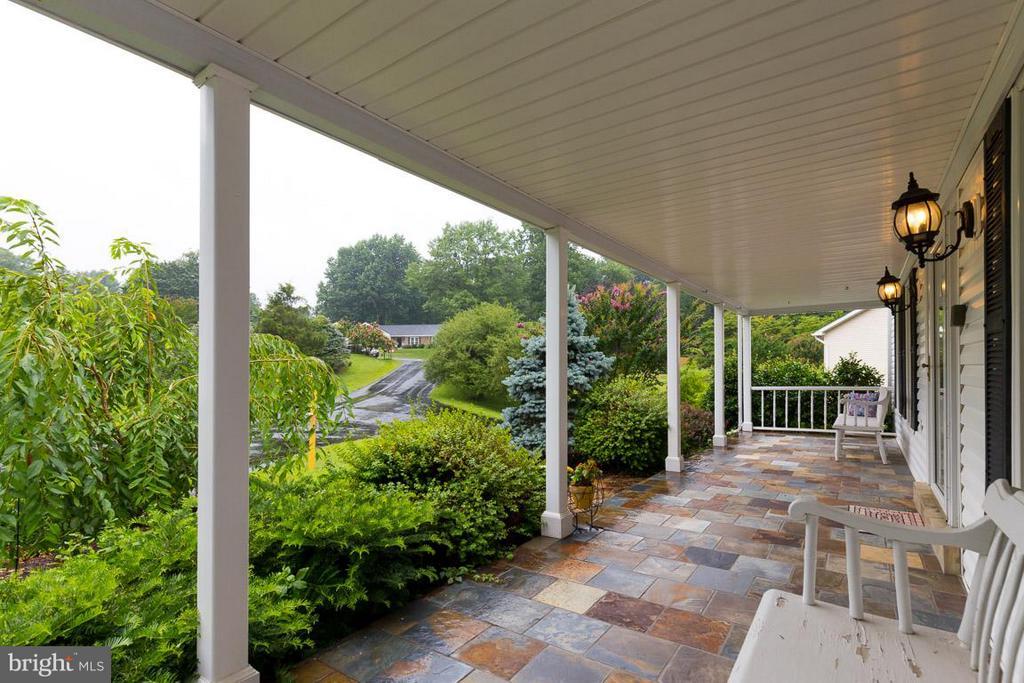 Enjoy a lemonade on the front porch - 12103 METCALF CIR, FAIRFAX
