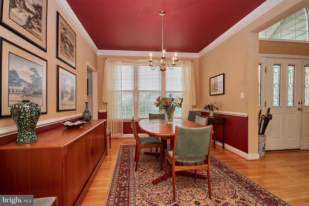 Formal  Dining Room with Hardwood Floor - 13392 FIELDSTONE WAY, GAINESVILLE