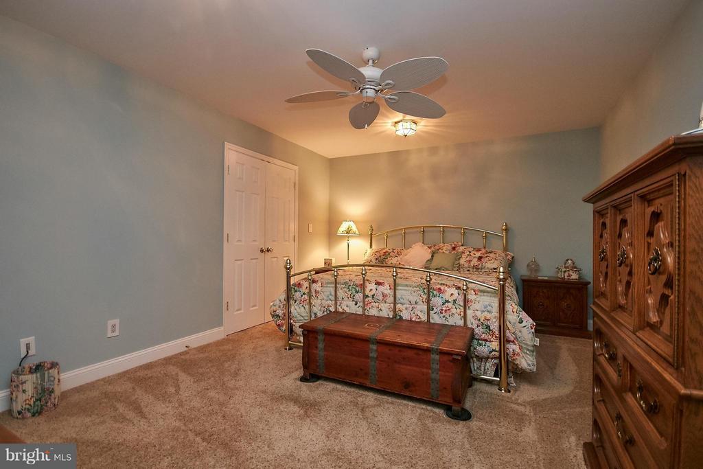 Main Level Master Bedroom - 13392 FIELDSTONE WAY, GAINESVILLE