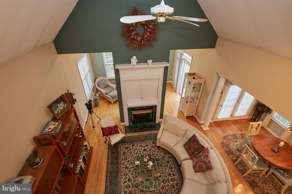 View from the Loft Above - 13392 FIELDSTONE WAY, GAINESVILLE
