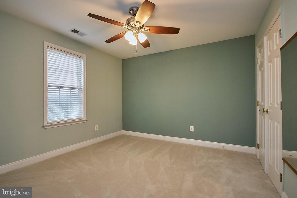 Upper Level Bedroom with Lighted Ceiling Fan - 13392 FIELDSTONE WAY, GAINESVILLE