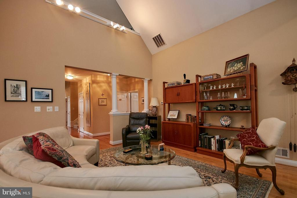 Hardwood Floor and Two-Sided Gas Fireplace - 13392 FIELDSTONE WAY, GAINESVILLE