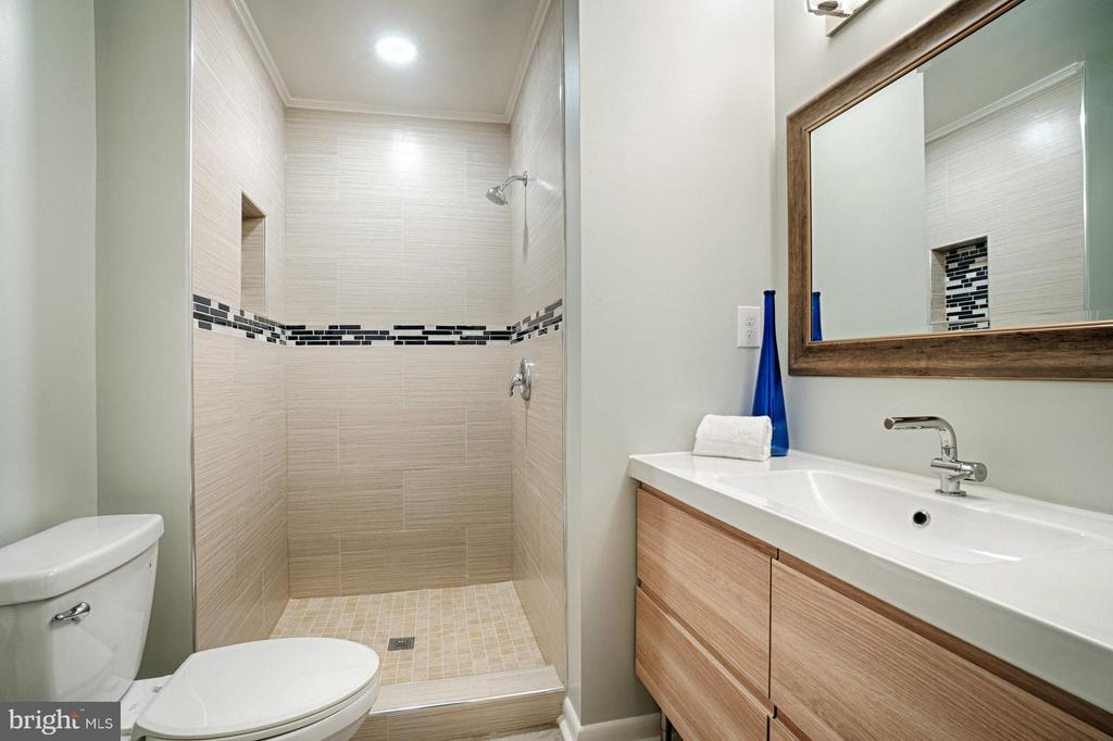 Bath (Master) - 4407 HILLYER ST, FAIRFAX