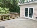 Deck - 3 GOVERNORS DR SW, LEESBURG
