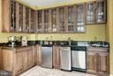 Built-in 6' x 9' wet bar, convert to office space - 2425 L ST NW #936, WASHINGTON