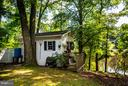 Great shed for outdoor toys and lawn equipment - 214 TWIN LAKE DR, FREDERICKSBURG