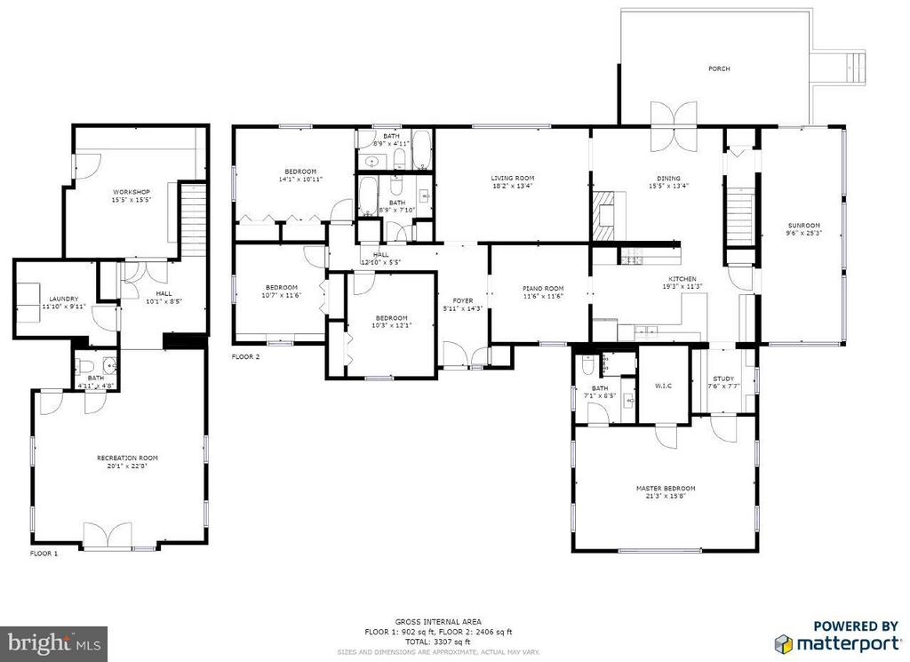Floor Plans - 214 TWIN LAKE DR, FREDERICKSBURG