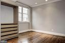 Bedroom with a view - 3239 N ST NW #11, WASHINGTON