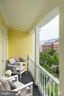 Front terrace - 3239 N ST NW #11, WASHINGTON