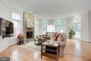 Family Room Light, bright floor-to-ceiling stone g - 20258 ISLAND VIEW CT, STERLING