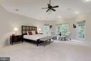 Bedroom (MasterQuiet retreat with golf course viev - 20258 ISLAND VIEW CT, STERLING